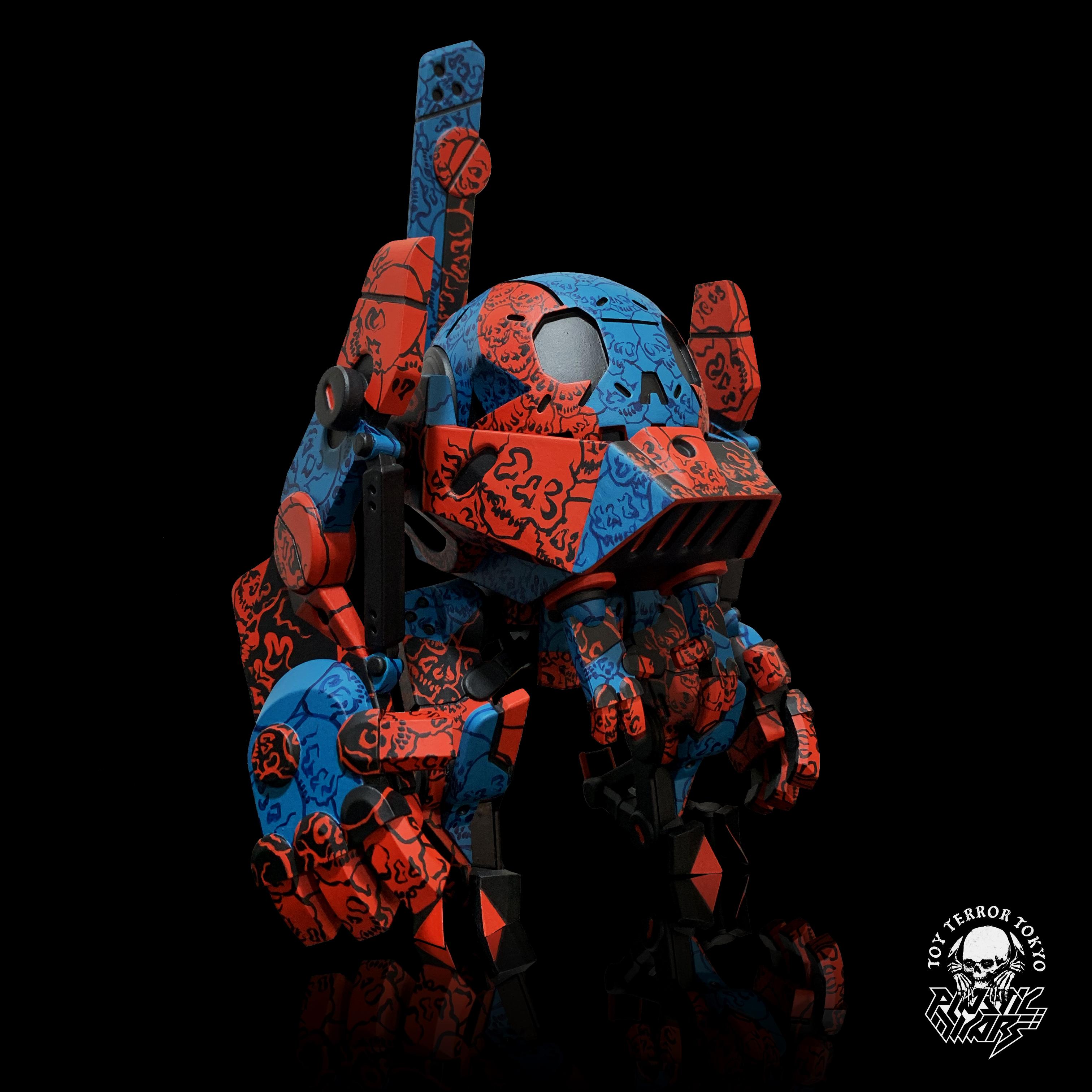 Toy Terror Mechaverita Ghetto Plastic Sadgas Beast Brothers